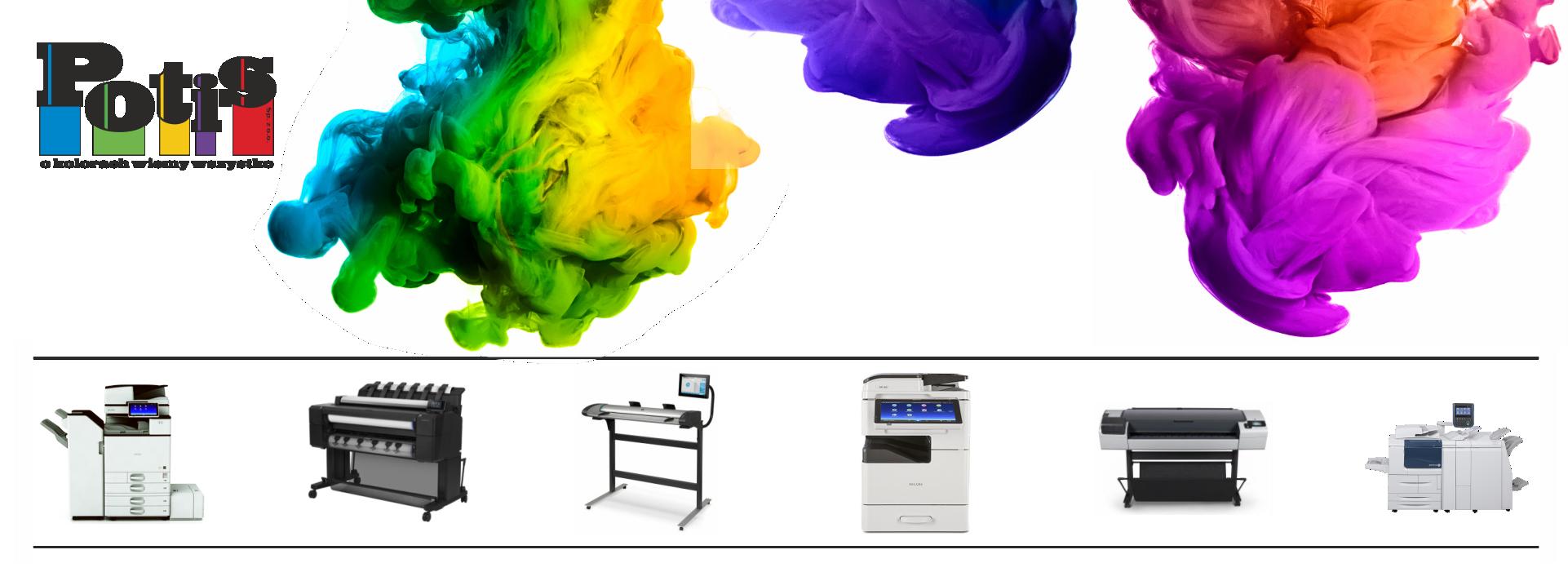 Potis - drukarki, kopiarki, plotery